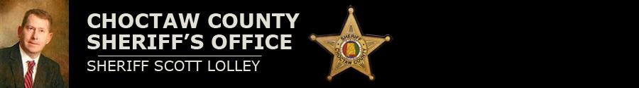 Choctaw County Sheriff's Office logo